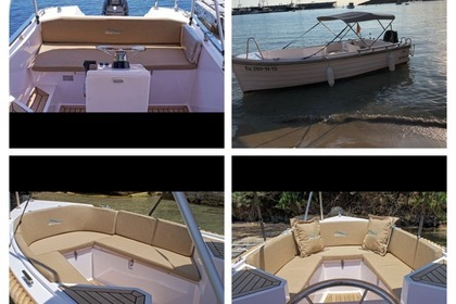 Charter Motorboat Baltic boats Silver 495 Mallorca