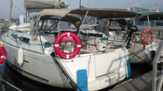 Dufour 405 Grand Large in Valencia peer-to-peer