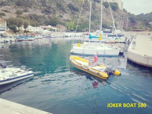 Joker Boat Coaster 580 in Porto Badino for hire