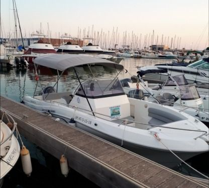 Rental Motorboat Pacific Craft 750 Open Santa Pola