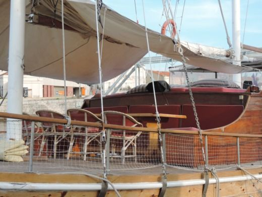 Chantiers De Bodrum Caiques - Goelette in Port-Camargue for hire