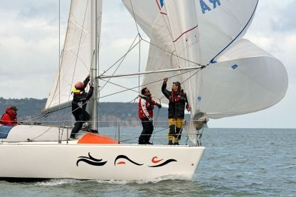 Rental Sailboat Jeanneau Jod 35 Dieppe
