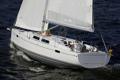 Hire Sailboat HANSE 385 Golfe Juan