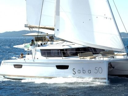 Location Catamaran Fountaine Pajot Saba 50 Olbia