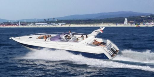 Motorboat SUNSEKER SUPERHAWK 48 for hire