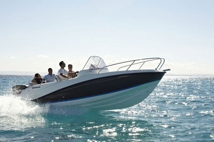 Rental Motorboat QUICKSILVER 605 SunDesk Vodice