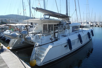 Location Catamaran LAGOON 421 Rome