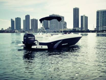 Miete Motorboot Bayliner Element 4S Miami