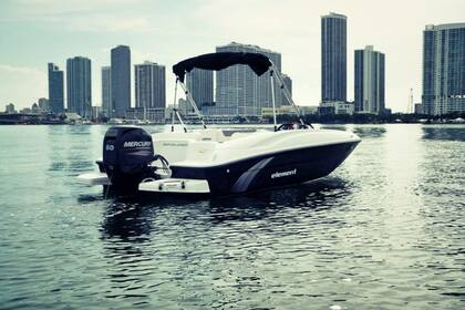 Rental Motorboat BAYLINER ELEMENT 4S Miami