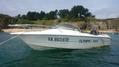 Rental Motorboat Ocqueteau Olympic 565 Le Palais