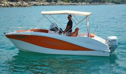 Rental Motorboat Oki Boats Barracuda 545 Krk
