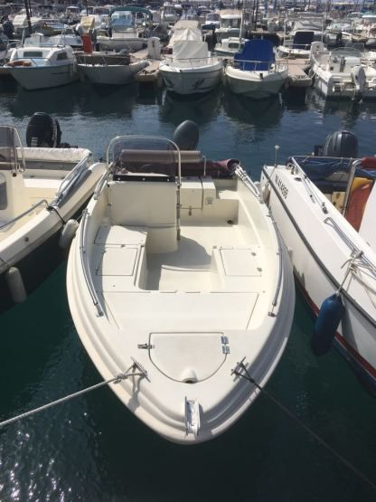 Miete Motorboot Karel Open 450 Nizza