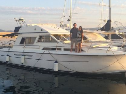 Rental Motorboat Princess 38 Arbatax