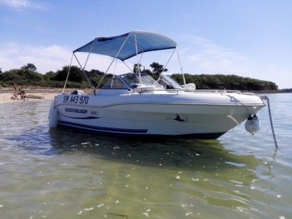 Charter Motorboat Quicksilver Qs 580 Br Open Arradon