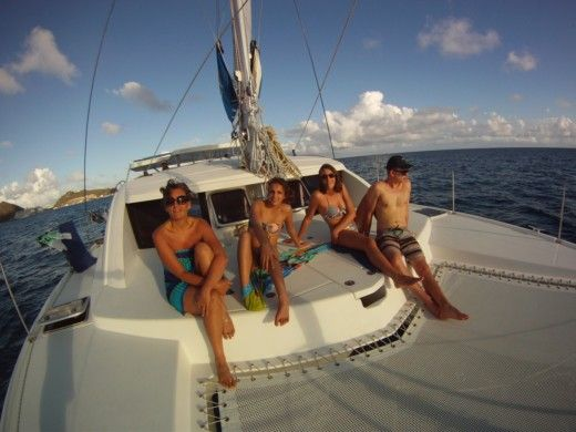 Charter catamaran in St Lucia Dr peer-to-peer