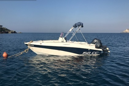 Hire Motorboat Compass 150cc Heraklion