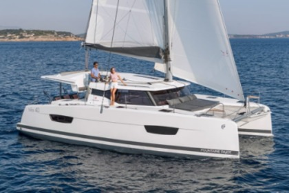 Charter Catamaran Fountaine Pajot Lucia 40 Saint Thomas