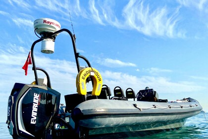 Hire RIB DK MILITARY RIBS UK 26FT COMMERCIAL HIGH SPEED SPEC Weymouth