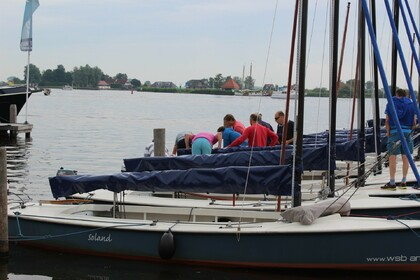 Rental Sailboat Polyvalk Open zeilboot Grou