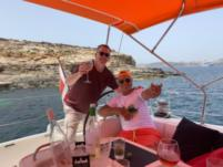 Rental sailboat in Sliema