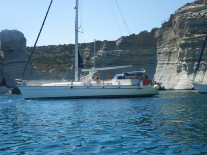 Charter Sailboat Bavaria 49 Milos