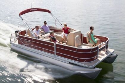 Hire Motorboat Sweetwater  2286 Pontoon Boat Cape Coral