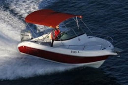 Motorboat Atlantic 650 Wa for rental