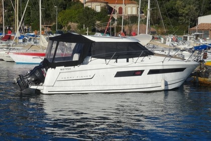Miete Motorboot JEANNEAU MERRY FISHER 855 Cannes