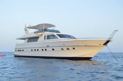 Charter Motorboat Canados Cantieri Di Ostria 77 Fly Mykonos