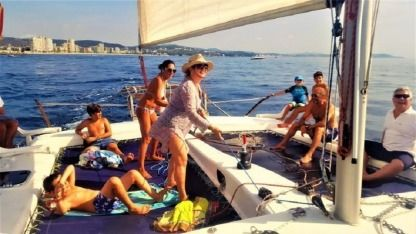 Location Catamaran Ukulele 34 Platja d'Aro