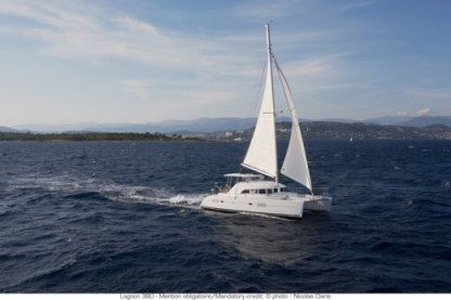 Location Catamaran Lagoon 380 Lavrion