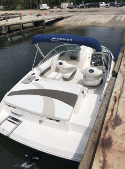 Charter Motorboat Rinker Bowrider 20' Miami