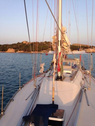 Charter sailboat in Ibiza