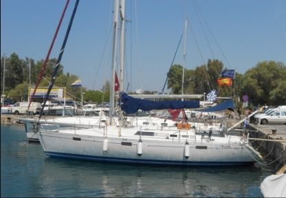 Charter Sailboat Beneteau Oceanis 390 Greece