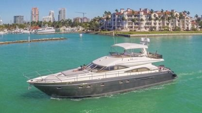Rental Motorboat Princess Custom Miami