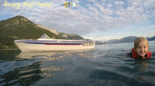 1960S Vintage Ski Boat Rv15 70Ch in Annecy for hire