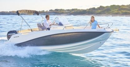 Rental Motorboat Quicksilver Activ 605 Open Trebeurden