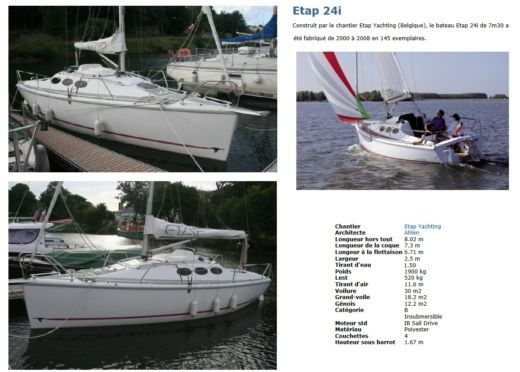 Sailboat Etap Yachting 24 I for hire