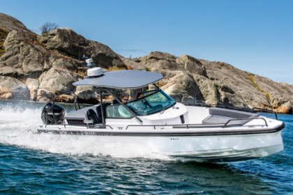 Rental Motorboat Axopar 28 T-top Laurium