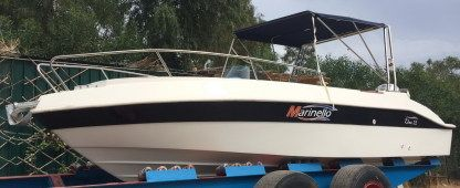 Charter Motorboat Marinello Eden Evolution 7,20 Metri Milazzo