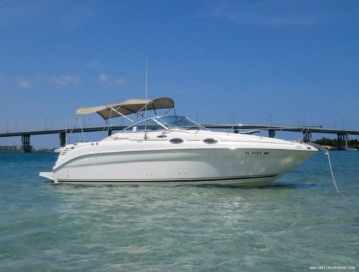 Motorboot Sea Ray Sundancer 260 zu vermieten