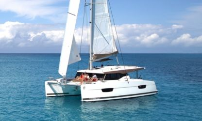 Rental Catamaran Fountaine Pajot Lucia 40 Trogir