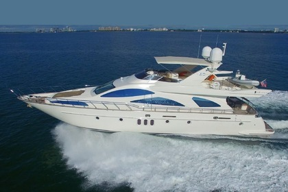 Rental Motor yacht AZIMUT 80 Bar