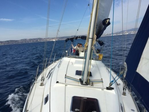 Hanse 370 in Marseille for hire