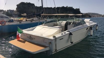 Charter Motorboat Tornado 38 Flush Deck Bacoli