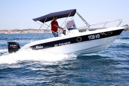 Hire Motorboat FISHER  20 Vodice