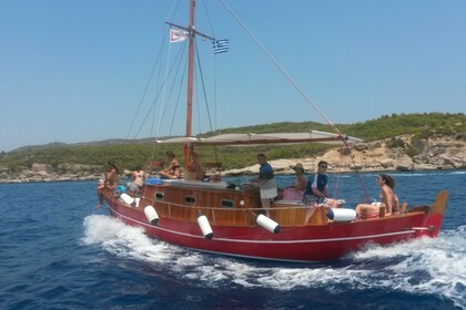 Rental Motorboat Traditional Boat Spetses