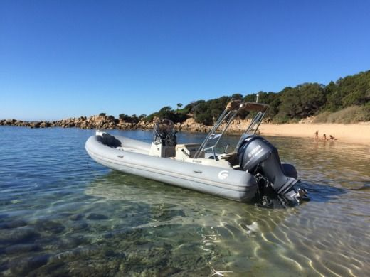 RIB CAPELLI Tempest 650 for hire