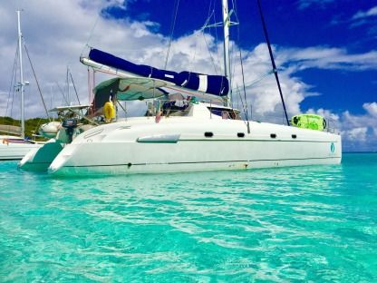 Location Catamaran Fountaine Pajot Bahia 46 Pointe-à-Pitre