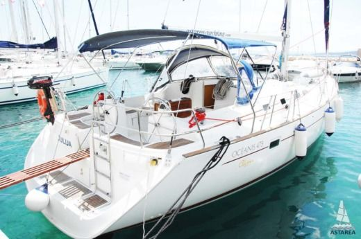 BENETEAU Oceanis 473 Clipper in Baška Voda for hire